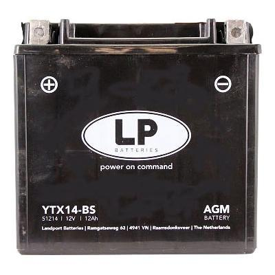 Batterie Landport YTX14-BS 12V 12A