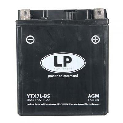 Batterie Landport YTX7L-BS 12V 6A
