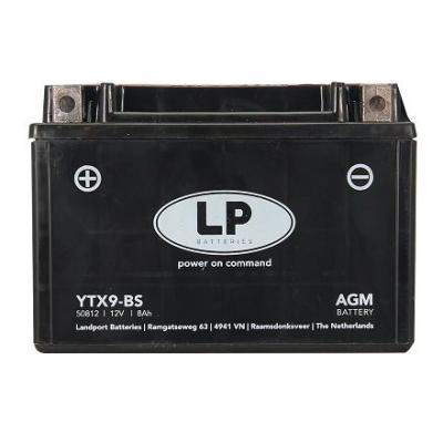 Batterie Landport YTX9-BS 12V 8A