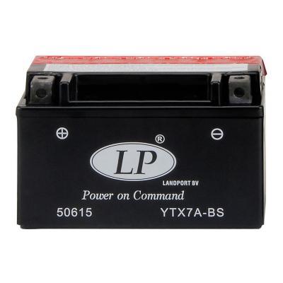 Batterie lp YTX7A-BS 12v 6a sans entretien