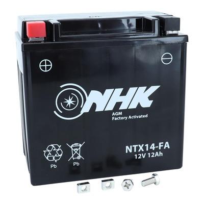 Batterie NHK NTX14 12V 12ah