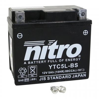 Batterie Nitro 12V 5Ah YTC5L-BS Gel