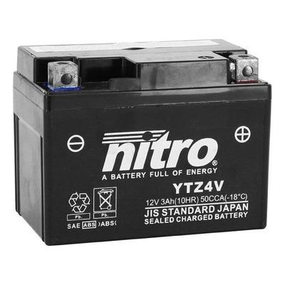 Batterie Nitro NTZ4V 12V 4Ah prête à l'emploi