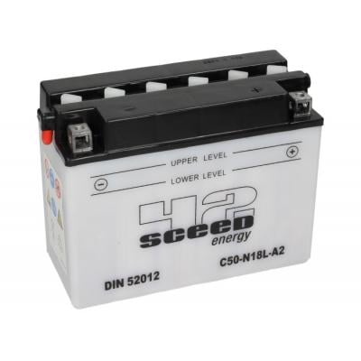 Batterie Sceed 42 Y50-N18L-A 12V 20Ah avec pack acide