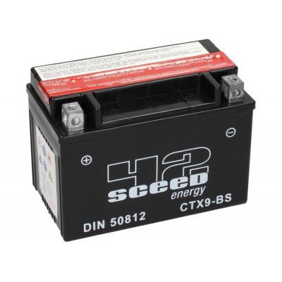 Batterie Sceed 42 YTX9-BS 12V 8Ah avec pack acide