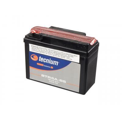 TECNIUM Batterie Moto 12V avec Entretien avec Pack Acide Bb7-A