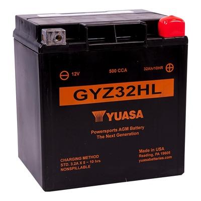 Batterie Yuasa GYZ32HL 12V 32Ah prête à l'emploi