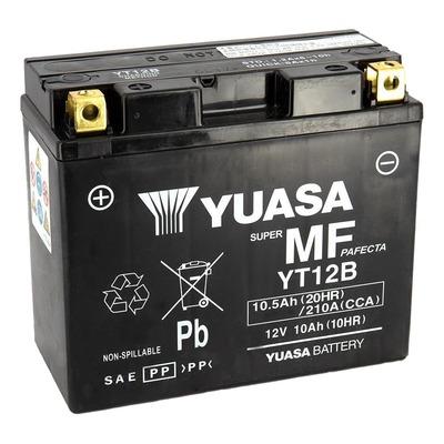 Batterie Yuasa YT12B-BS - SLA AGM12V 10,5 Ah prête à l'emploi