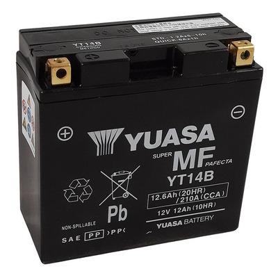 Batterie Yuasa YT14B-BS - SLA AGM12V 12,6 Ah prête à l'emploi