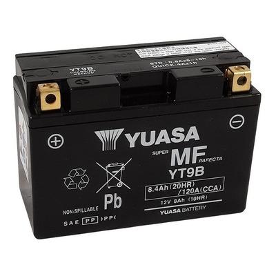 Batterie Yuasa YT9B-BS - SLA AGM12V 8,4 Ah prête à l'emploi
