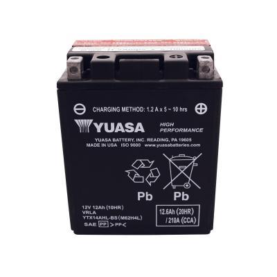 Batterie Yuasa YTX14AHL-BS 12V 12Ah
