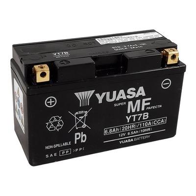 Batterie Yuasa YTX7B-BS - SLA AGM12V 6,8 Ah prête à l'emploi