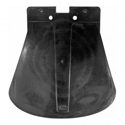 Bavette de garde boue arrière noire avec logo MBK 51/88