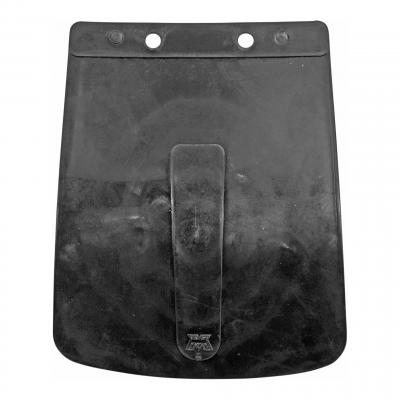 Bavette de garde boue avant noire avec logo MBK 51/88