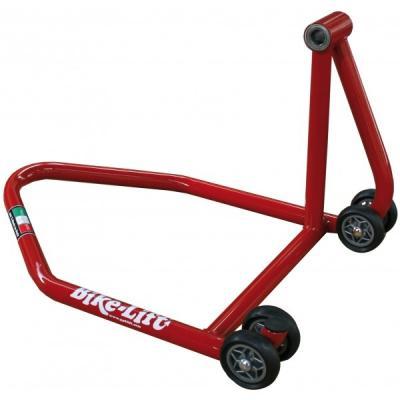 Béquille arrière rouge Bike Lift RS-16 pour monobras