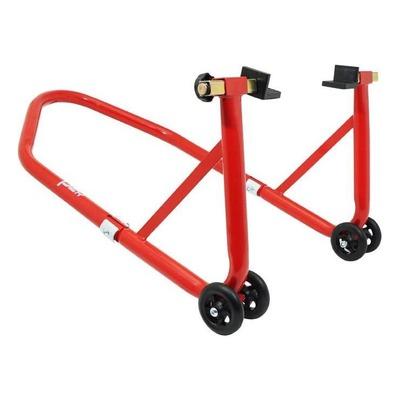 Béquille de stand arrière rouge
