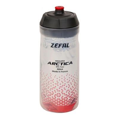 Bidon isotherm Zefal Arctica 55 (550ml) rouge-argent