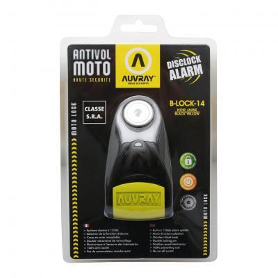 Bloque disque Auvray B-Lock 14 Noir Système Alarme SRA