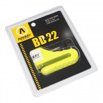 Bloque disque Auvray BD22 pour moto diamètre 10