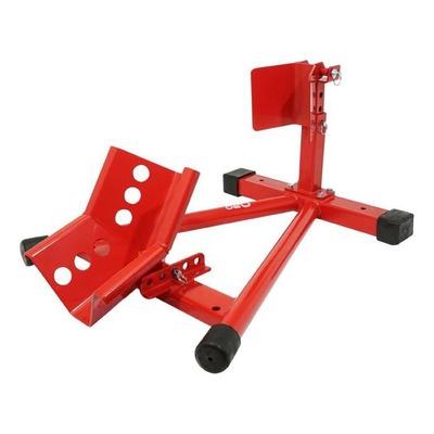 Bloque roue avant réglable rouge