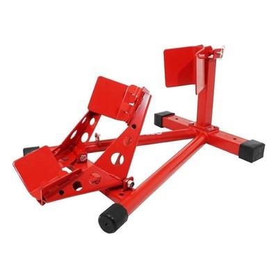 Bloque roue avant rouge
