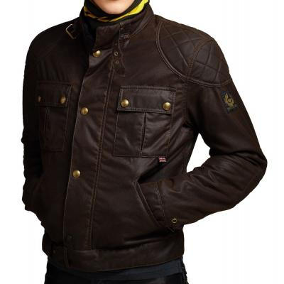 Blouson Belstaff BROOKLANDS marron