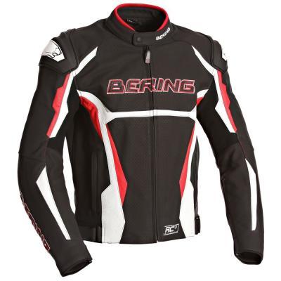Blouson Bering KINGSTON EVO-R noir/blanc/rouge