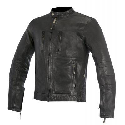 Blouson cuir Alpinestars BRASS noir