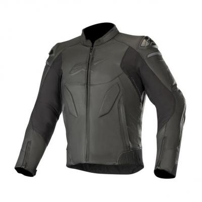 Blouson cuir Alpinestars Caliber noir
