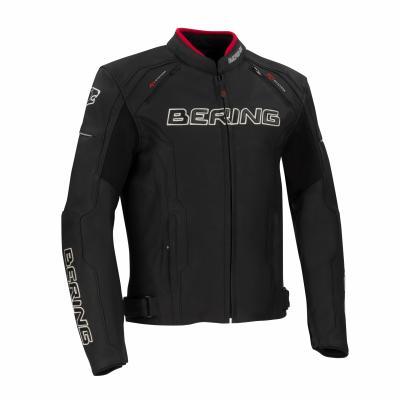 Blouson cuir Bering Borg noir