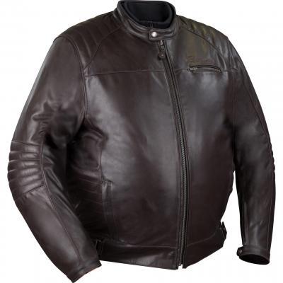 Blouson cuir Bering Bruce King Size Marron