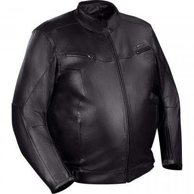 Blouson cuir Bering Gringo King Size noir