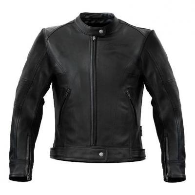 Blouson cuir femme S-Line Vintage noir