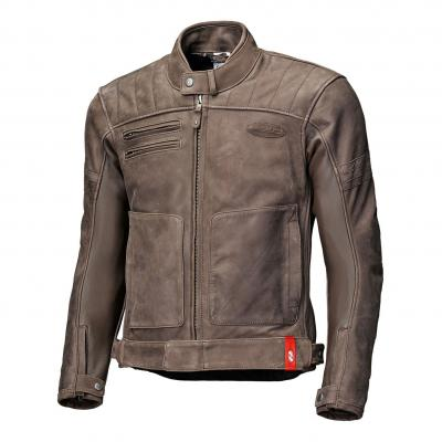 Blouson cuir Held Hot Rock marron (long)