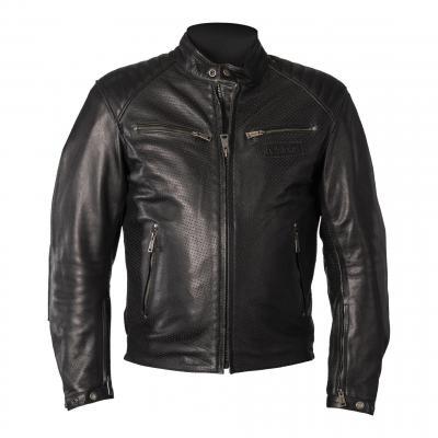 Blouson cuir Helstons Classico noir