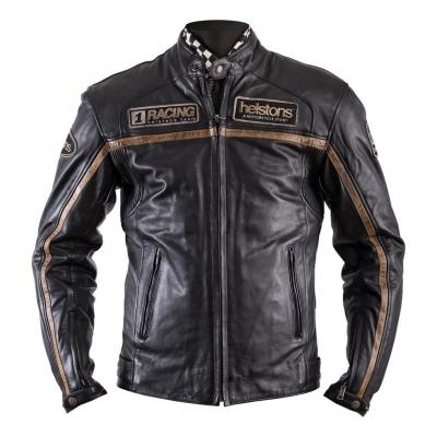 Blouson cuir Helstons Daytona noir