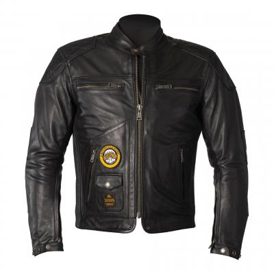 Blouson cuir Helstons Tracker noir
