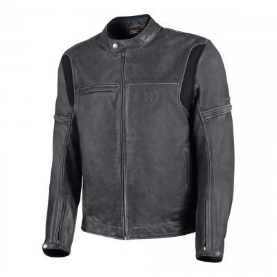 Blouson cuir Hevik Mustang noir