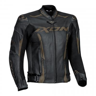 Blouson cuir Ixon Vortex 2 Lazer noir
