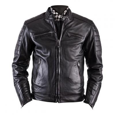 Blouson cuir Rag Helstons Cruiser noir