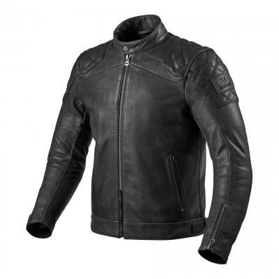 Blouson cuir Rev'it Cordite noir