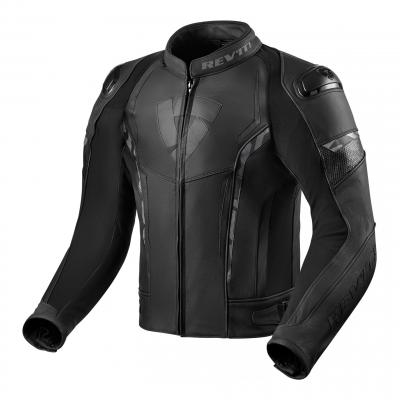 Blouson cuir Rev'it Glide noir