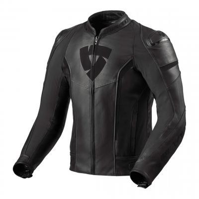 Blouson cuir Rev'it Glide vintage noir