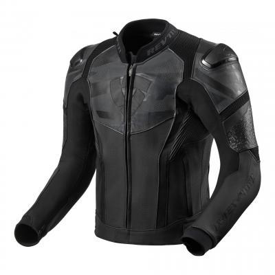 Blouson cuir Rev'it Hyperspeed Air noir/gris