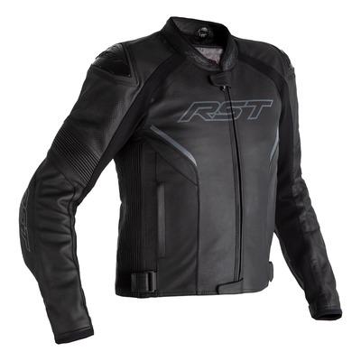 Blouson cuir RST Sabre Airbag noir