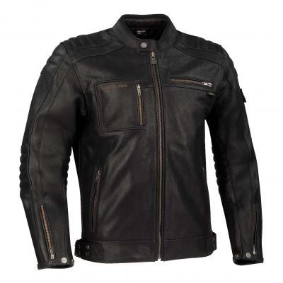 Blouson cuir Segura Juan noir