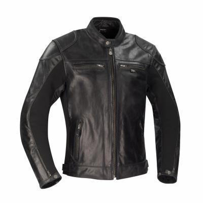 Blouson cuir Segura Kroft noir