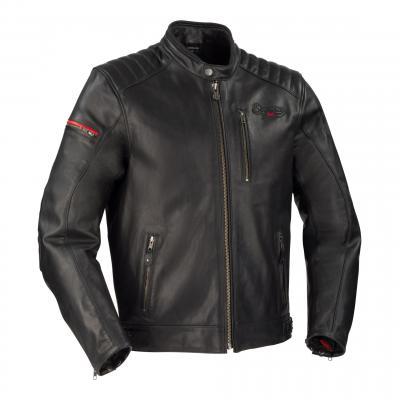 Blouson cuir Segura Perkins noir