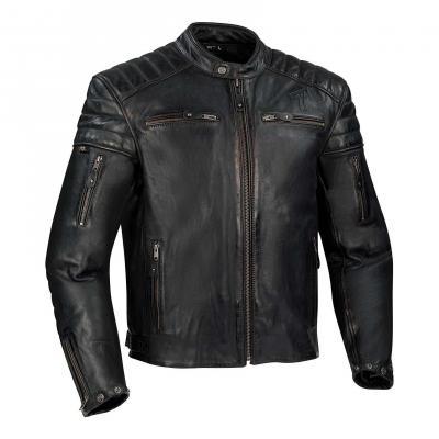 Blouson cuir Segura Remo noir