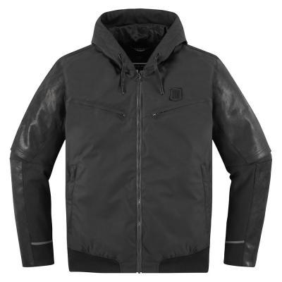 Blouson cuir/textile Icon 1000 Varial noir